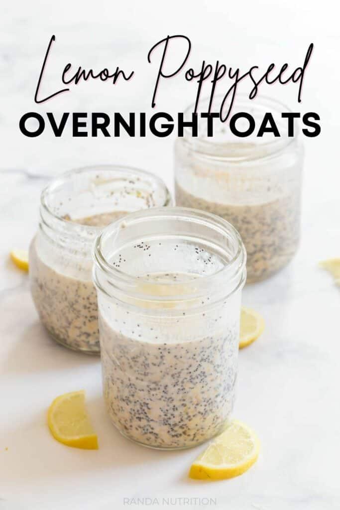lemon poppyseed overnight oats