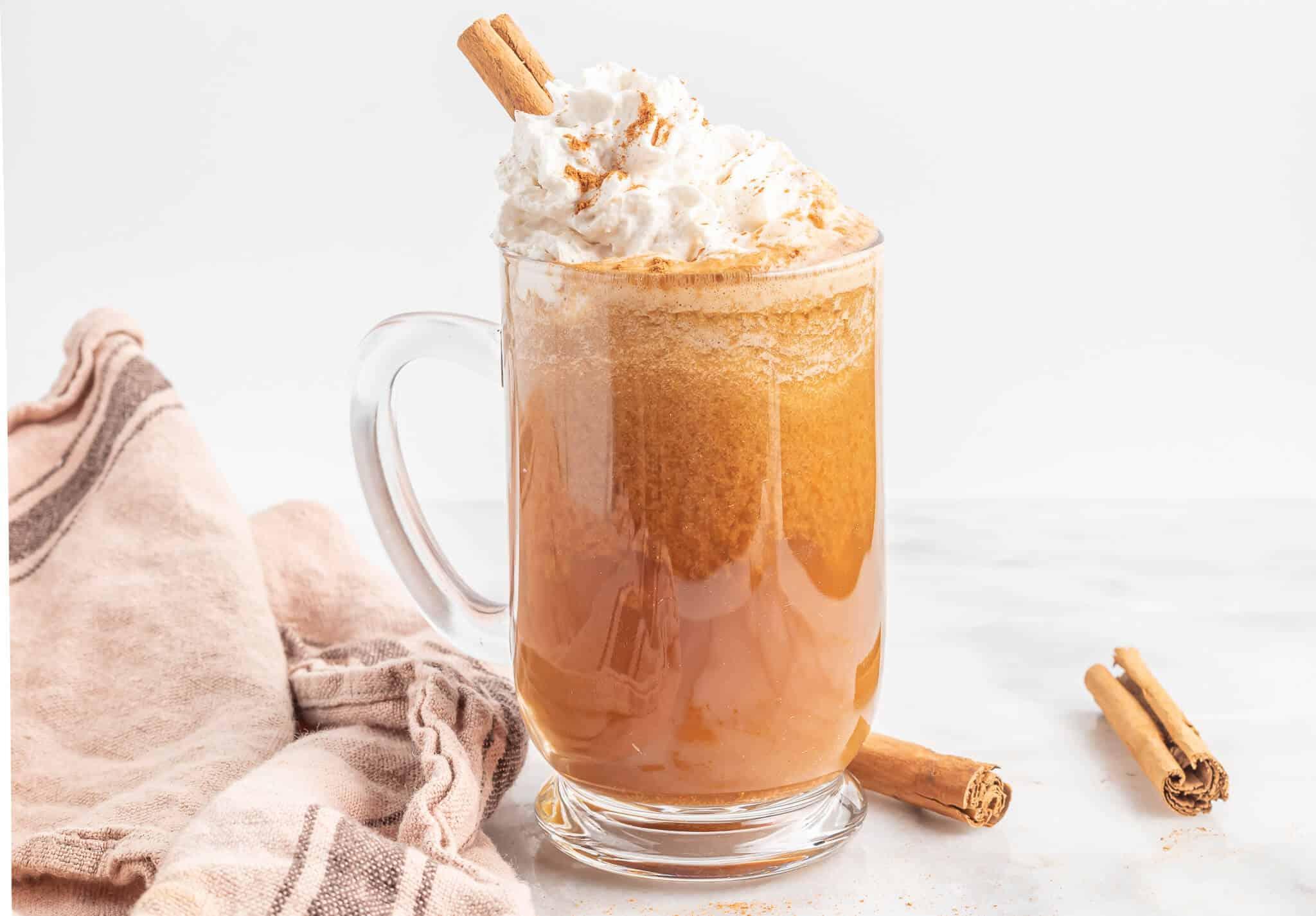 oat milk pumpkin spice latte
