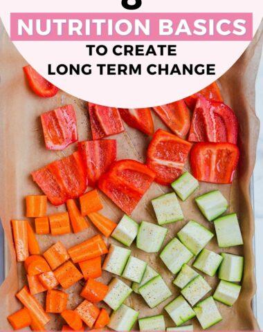8 Nutrition Basics to Create Long Term Change
